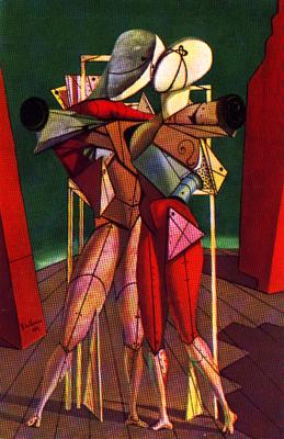 Giorgio De Chirico Hector And Andromache